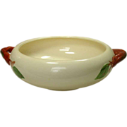 Franciscan China, Apple Pattern, Round Handled Vegetable, U.S.A.