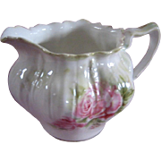 Schlegelmilch, R.S. Prussia porcelain cream pitcher, Germany