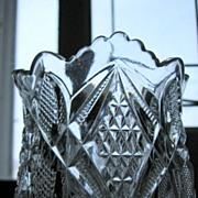 Eapg Victorian Glass 'Pennsylvania' pattern spooner