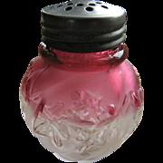 Royal Ivy, Northwood Glass Cranberry Rubina shaker