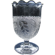 Eapg, Pattern glass 'Stippled Grape and Festoon' spooner, Boston Sandwich