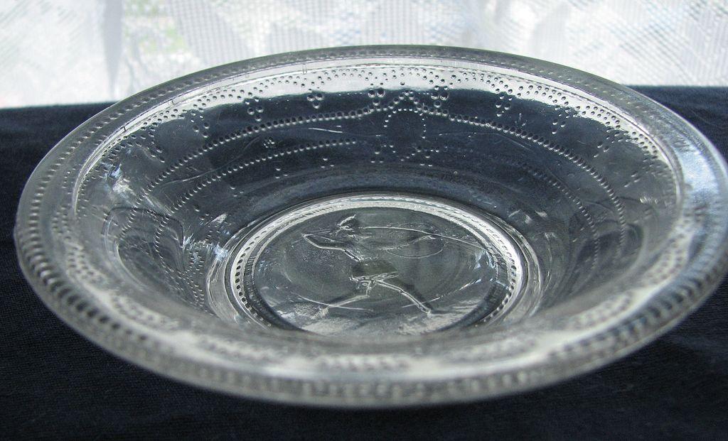 Eapg Minerva pattern Boston Sandwich, Adams Glass, Roman medallion