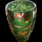Eapg, Delaware pattern celery vase, U.S. Glass Co.