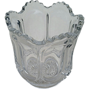 """Galloway"", ""Mirror Plate"", U.S. Glass Co., spooner"