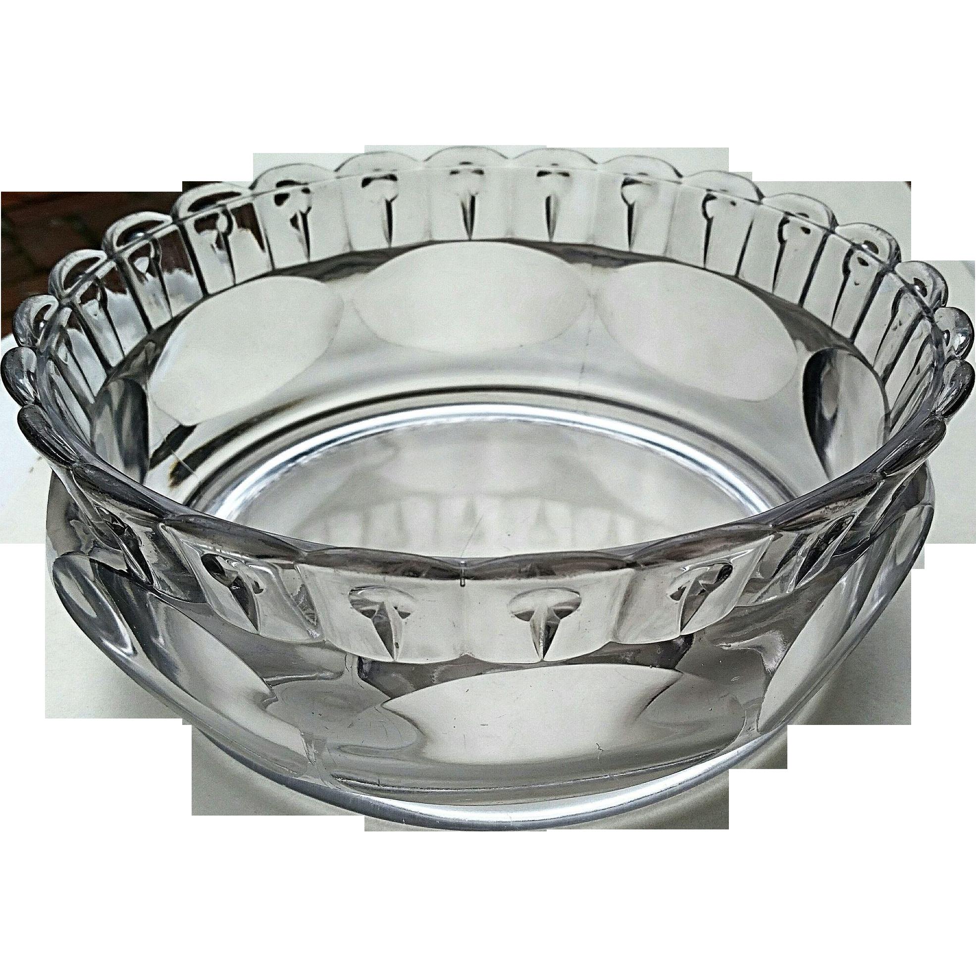 """Nail"" pattern 8 inch bowl, Ripley"