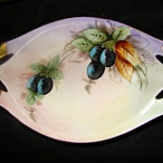 RS Germany Vintage Olive Relish Service Dish E.S./34