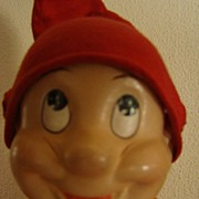 Vintage Dopey Dwarf (Snow White) Doll Madame Alexander Composition