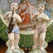 Early 19th Century Pair of Ginori Figures - Putti