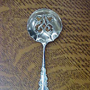 Antique Sterling Silver Bon Bon Spoon - R. BLACKINTON - 1900