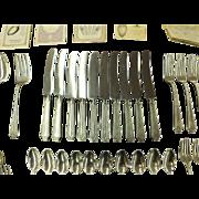 """Vintage Gorham """"King Albert"""" Sterling Silver Flatware Set - 1928"""