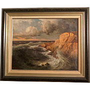 Superb impressionistic painting by Swedish-Russian Master Hjalmar Hansson ( 1864-?). Very rare. Highly valuable. Top museum quality.