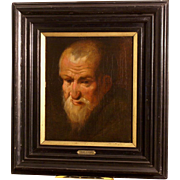 17thC Flemish painting, portrait of a man, by studio J Jordaens. Museum quality. 1 WEEK REDUCED!