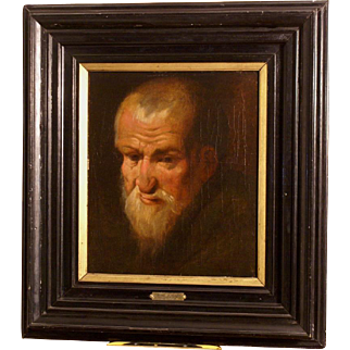17thC Flemish painting, portrait of a man, by studio J Jordaens. Museum quality. 1 WEEK REDUCED!