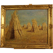 Superb impressionistic French landscape painting, from around 1930, by highly listed European master. Museum provenance! 1 WEEK REDUCED!