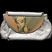 Vintage Patricia Smith Moon Bag Purse