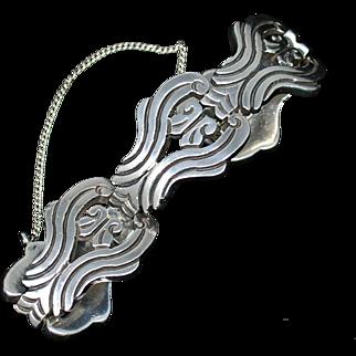 Vintage J. Flores Mexican Sterling Bracelet