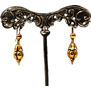 Antique 14k Victorian Dangle Earrings