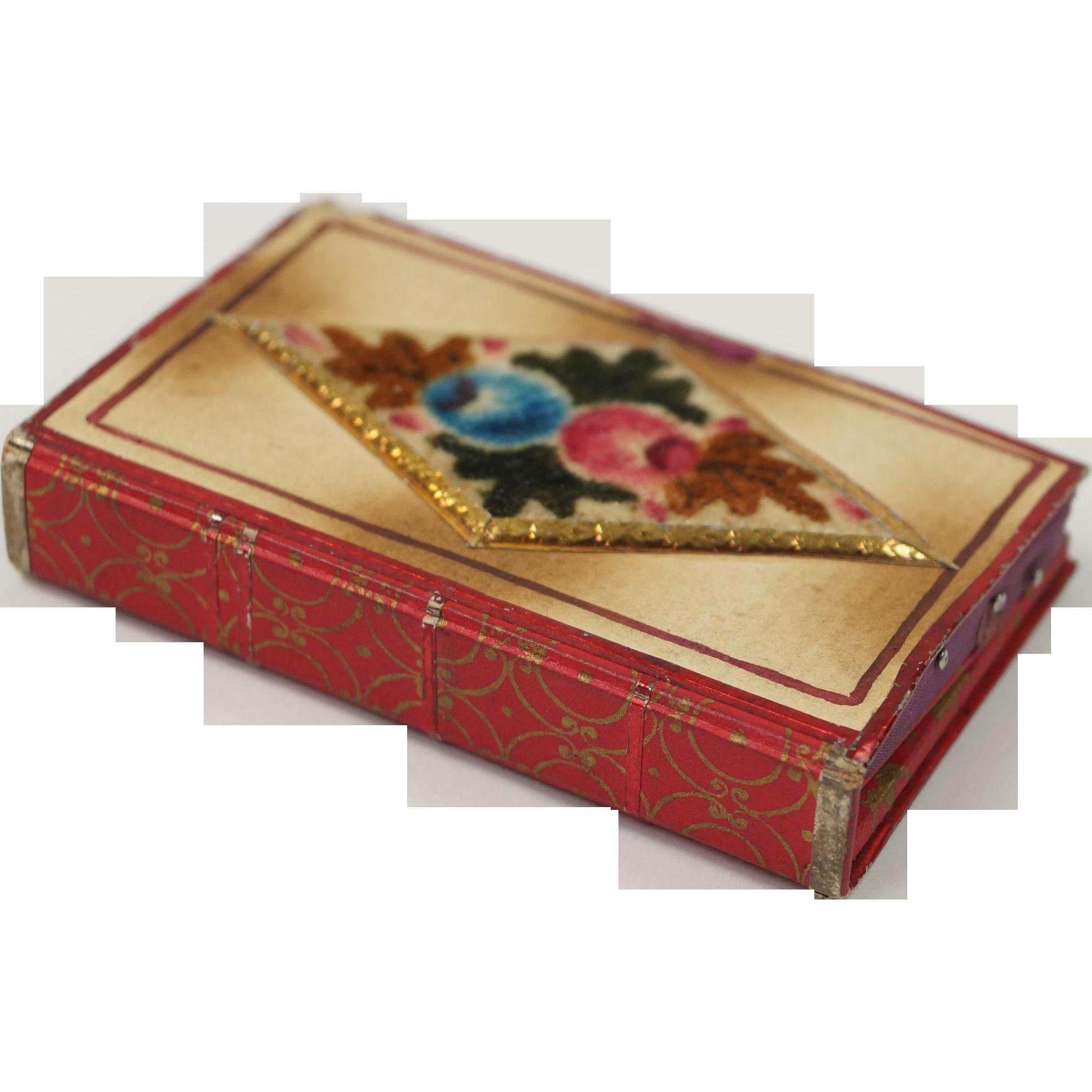 Antique Georgian Pincushion Theorem Pin Cushion English Circa 1820