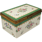 19th Century Copeland Spode Porcelain Box Luxury Casket Circa 1890's - Red Tag Sale Item