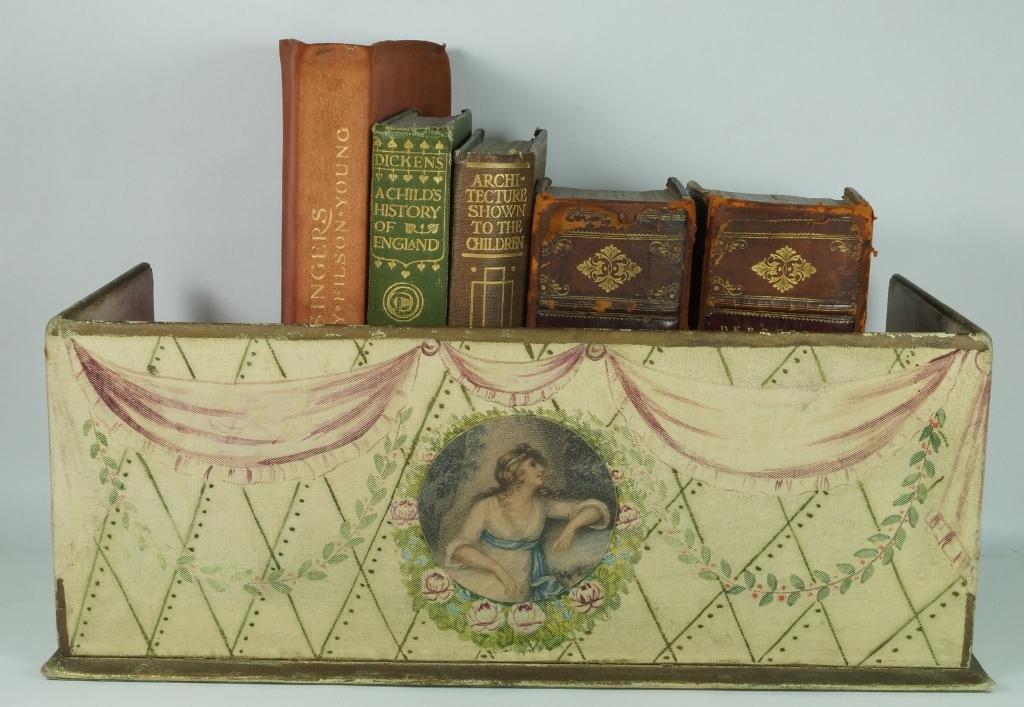 antique georgian lady 39 s shoe box decorative display shelf storage box from rubylane sold on ruby. Black Bedroom Furniture Sets. Home Design Ideas
