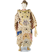 RESERVED HP Antique 19th Century Chinese Opera Doll Circa 1900 Qing Period
