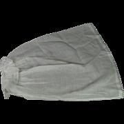 Mid 19th Century Pair Original Engageantes False Sleeves Detachable Sleeves Circa 1850