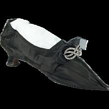 Georgian Lady's Shoe English Circa 1775 Superb 18th Century Original Example