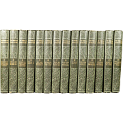 The Works of William Shakespeare Henry Irving Complete 14 Volume Set Circa 1910