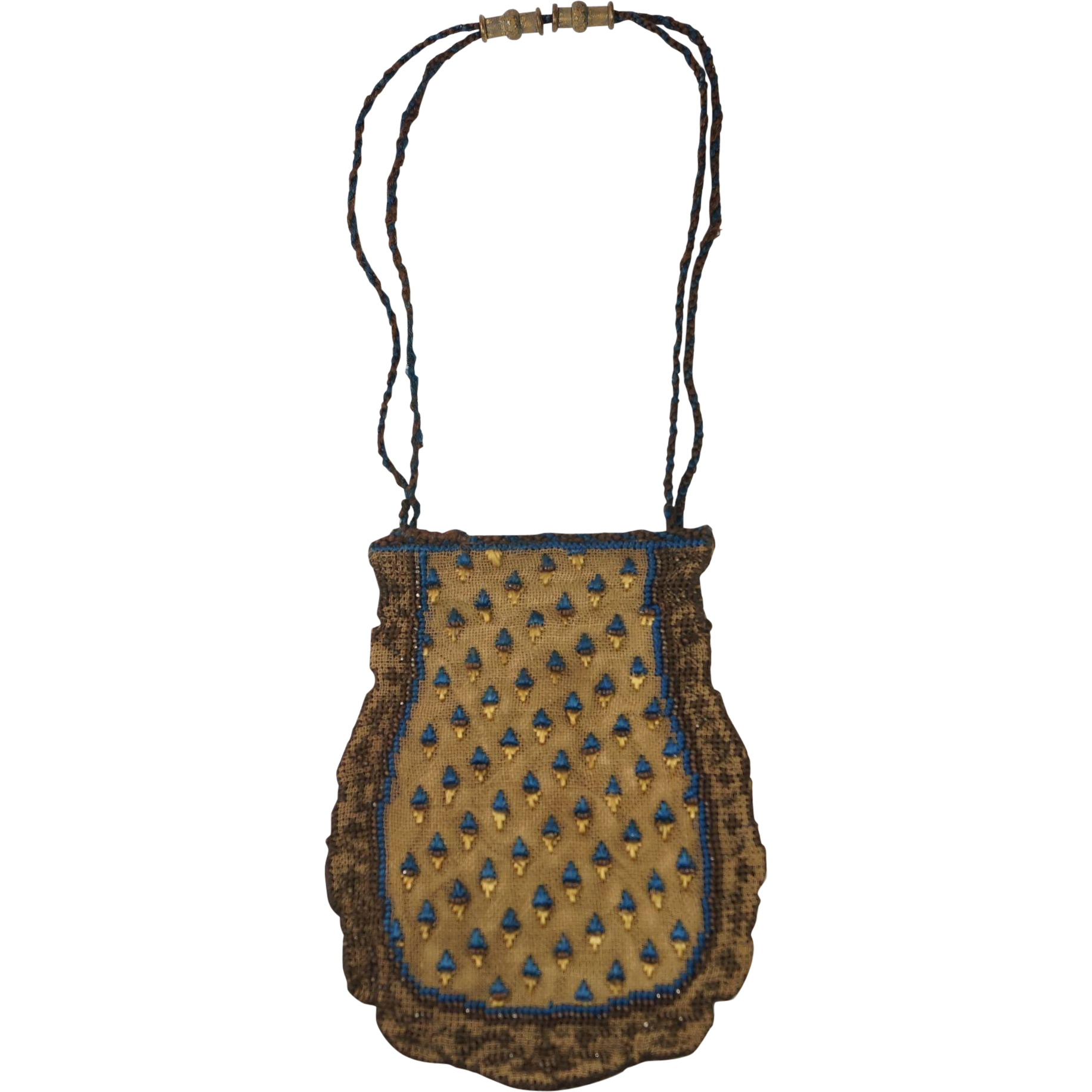 French Regency Reticule Purse Circa 1816 Beautiful ...