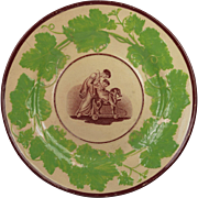 Georgian Plate Adam Buck Design English Circa 1815