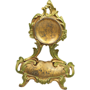Antique French Art Nouveau Watch Holder Porte Montre Circa 1890