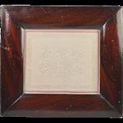 Georgian Pin Prick Picture Embossed Paper English Circa 1820