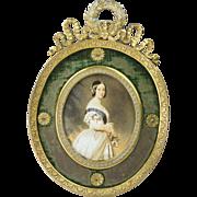 Antique French Ormolu Photo Frame Circa 1860 Stunning