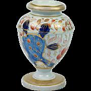 Rare Early 19th Century Masons Iron Stone China Miniature Vase Circa 1820.