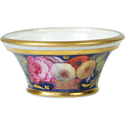 Antique Coalport Dolls House Miniature Porcelain Bowl English Circa 1820 Georgian