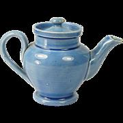 Antique Georgian Childs Miniature Teapot Staffordshire Pottery Circa 1830