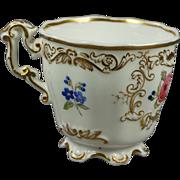 Antique English Porcelain Cup Copeland And Garrett Circa 1840