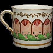 Rare 19th Century Porcelain Spode Cup Coffee Can Circa 1810 Regency Era