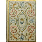 British Peerage Illuminated Vellum Marriage Book Marchioness of Exeter Cecil Family 1901
