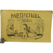 Rare Onwhyn, Thomas Illustrated Satirical Booklet of Harrogate Spa Medicinal Waters Hydrotherapy Published by Rock Brothers & Payne 1860