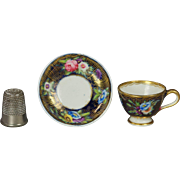 Early 19th Century Spode Pattern No 2478 Miniature Doll Size Toy Cup And Saucer Circa 1816 Regency Era