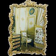 Antique 19th Century French Gilt Photo Frame Rococo Style Circa 1870