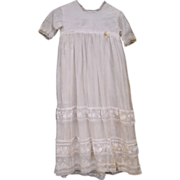 Vintage Old Lace Baby/Doll Dress