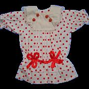 Polka Dot Drop Waist Doll Dress