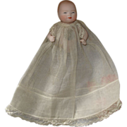 Miniature Grace Putnam Bye-Lo Bisque Baby - Paper Label - TLC - Red Tag Sale Item
