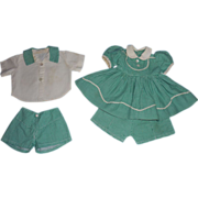 Matching Outfits For Boy & Girl Dolls