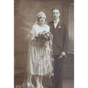 Beautiful Old Wedding Photo