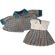 Vogue Ginny Houndstooth Doll Dress And Cape