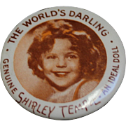 Ideal Shirley Temple Doll Pin