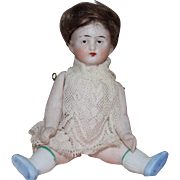 German Miniature Bisque Doll - Sweet Face